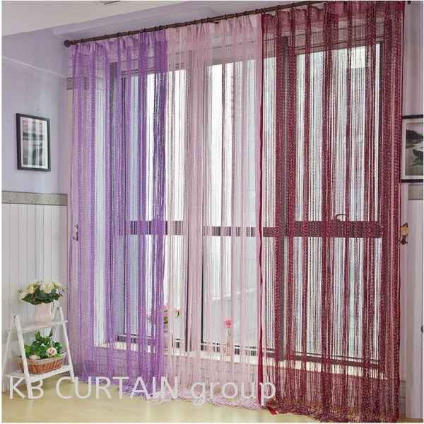 String Curtain Accessories Johor Bahru (JB), Skudai, Singapore Design, Supplier, Renovation | KB Curtain & Interior Decoration