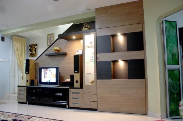 Living Room JB, Johor Bahru, Malaysia Design, Custom Made | in-fortune Design Sdn Bhd