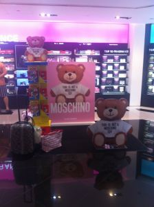 Moschino Promotion at Sogo