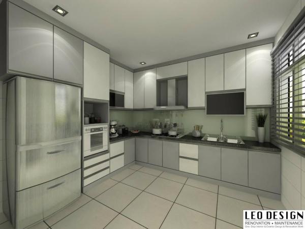 Kitchen Design Granite Top Kitchen Design Kangkar Pulai, Johor Bahru(JB), Skudai Design, Renovation | Leo Design Sdn Bhd