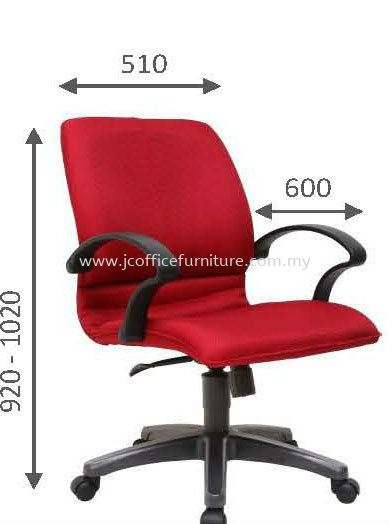 503 Low Back BONZER OFFICE CHAIRS Selangor, KL, Puchong, Malaysia. Manufacturer, Supplier, Supply, Supplies | JC Team Office Solution