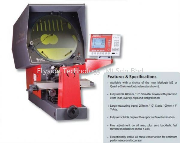 Optical Projector Industrial Measuring Instruments Precise Measuring Machines Malaysia, Selangor, Kuala Lumpur (KL). Supplier, Suppliers, Supply, Supplies | Elysion Technology (M) Sdn Bhd