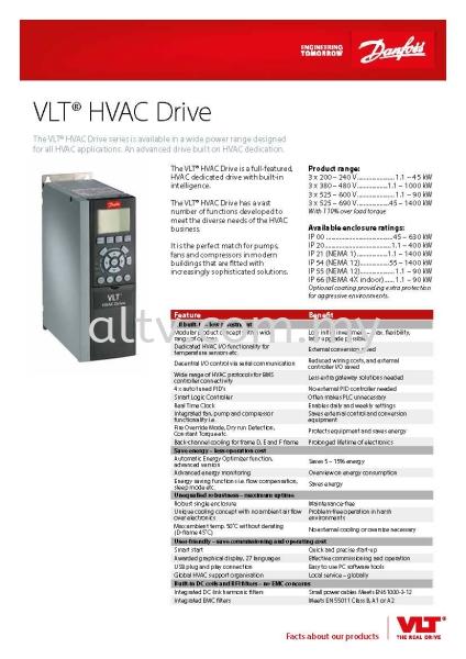 VLT Drives FC102 Malaysia Danfoss VLT Drives Malaysia, Selangor, Kuala Lumpur (KL), Subang. Supplier, Suppliers, Supply, Supplies | ALTV Engineering Sdn Bhd