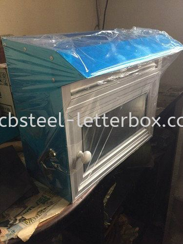 Aluminium Letter Box - Landed House Puchong, Selangor, Kuala Lumpur (KL), Malaysia. Supplier, Supply, Supplies, Manufacturer | CB Steel & Letter Box Sdn Bhd
