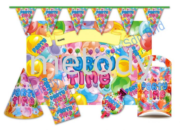 Birthday Party Sets - Party Time | Balloon