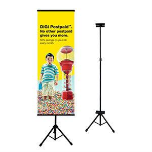 Bunting Tripod Stand Bunting Stand Kuala Lumpur (KL), Selangor, Malaysia Printing, Service | Dotz Printing Services