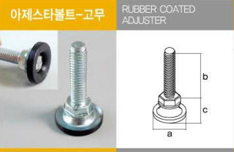 Adjuster (Rubber Coated) Adjuster Accessories Malaysia, Kuala Lumpur (KL), Selangor. Supplier, Supply, Supplies | Woo Kyung P & J Logistic (M) Sdn Bhd