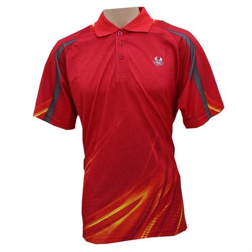 UCT009 red Dry Fit Polo T-Shirt Malaysia, Selangor, Kuala Lumpur (KL), Seri Kembangan Wholesaler, Supplier, Supply, Supplies   UCP Sport Sdn Bhd
