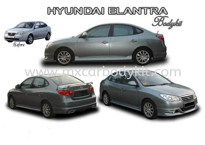 HYUNDAI ELANTRA 2007 AM STYLE BODYKIT ELANTRA / AVANTE 2007 HYUNDAI Johor, Malaysia, Johor Bahru (JB), Masai. Supplier, Suppliers, Supply, Supplies | MX Car Body Kit