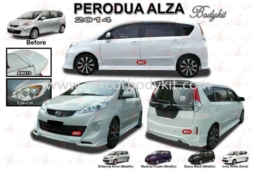 PERODUA ALZA 2014 AM STYLE BODYKIT + SPOILER ALZA 2014 - 2018 PERODUA Johor, Malaysia, Johor Bahru (JB), Masai. Supplier, Suppliers, Supply, Supplies | MX Car Body Kit