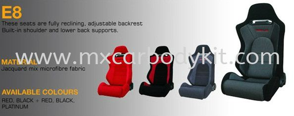 SSCUS E8 CAR SEAT CAR SEAT ACCESSORIES AND AUTO PARTS Johor, Malaysia, Johor Bahru (JB), Masai. Supplier, Suppliers, Supply, Supplies | MX Car Body Kit