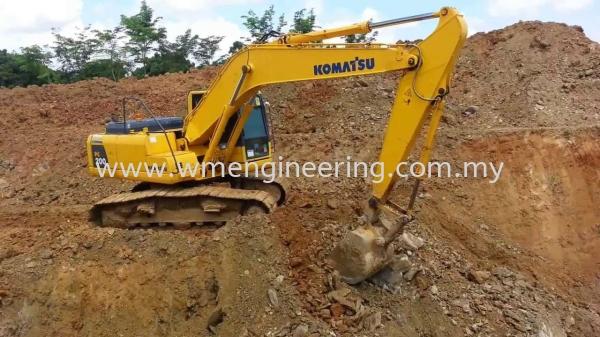 Komatsu PC200.8 1 Rent Excavator Johor Bahru (JB), Johor. Supplier, Suppliers, Supply, Supplies | WM Engineering Works