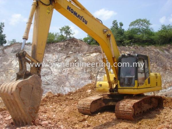 komatsu pc200.8 3 Rent Excavator Johor Bahru (JB), Johor. Supplier, Suppliers, Supply, Supplies | WM Engineering Works