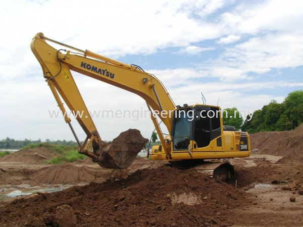Komatsu PC 200.8 6 Rent Excavator Johor Bahru (JB), Johor. Supplier, Suppliers, Supply, Supplies | WM Engineering Works