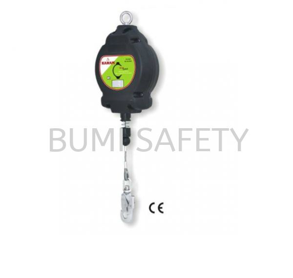 Retractable Block-Polymer Casing GI Wire Rope Ref Fall Protection Selangor, Kuala Lumpur (KL), Puchong, Malaysia Supplier, Suppliers, Supply, Supplies | Bumi Nilam Safety Sdn Bhd