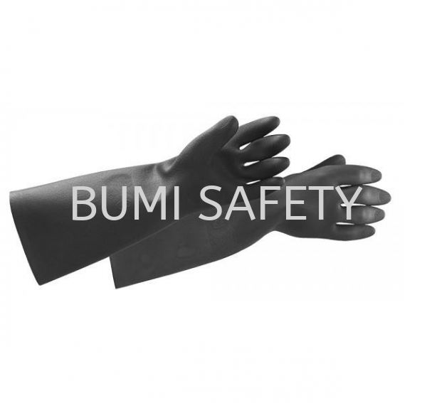 Black Knight Heavy Duty Rubber Gloves Hand Protection Selangor, Kuala Lumpur (KL), Puchong, Malaysia Supplier, Suppliers, Supply, Supplies | Bumi Nilam Safety Sdn Bhd