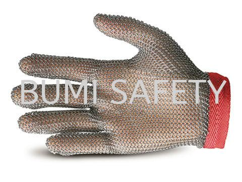 Stainless Steel Glove Hand Protection Selangor, Kuala Lumpur (KL), Puchong, Malaysia Supplier, Suppliers, Supply, Supplies | Bumi Nilam Safety Sdn Bhd