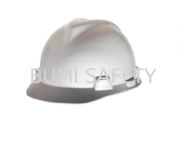 Industrial Safety Helmet Msa V-Gard Helmet Head Protection Selangor, Kuala Lumpur (KL), Puchong, Malaysia Supplier, Suppliers, Supply, Supplies | Bumi Nilam Safety Sdn Bhd