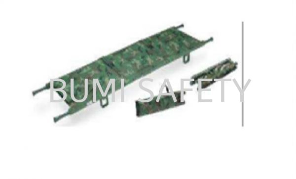 Double Fold Stretcher w,Carrying bag Stretcher Medical Equipment Selangor, Kuala Lumpur (KL), Puchong, Malaysia Supplier, Suppliers, Supply, Supplies | Bumi Nilam Safety Sdn Bhd