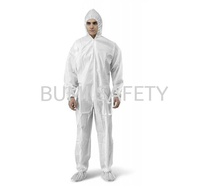 Disposable Coverall (Water Repellent) Coverall Protective Clothing Selangor, Kuala Lumpur (KL), Puchong, Malaysia Supplier, Suppliers, Supply, Supplies | Bumi Nilam Safety Sdn Bhd