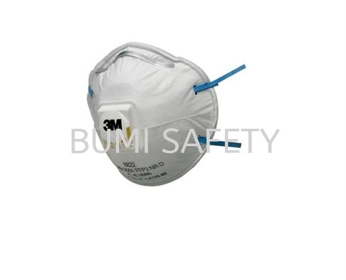 3M 8822 P2 Valved Particulate Respirator Protection Selangor, Kuala Lumpur (KL), Puchong, Malaysia Supplier, Suppliers, Supply, Supplies | Bumi Nilam Safety Sdn Bhd