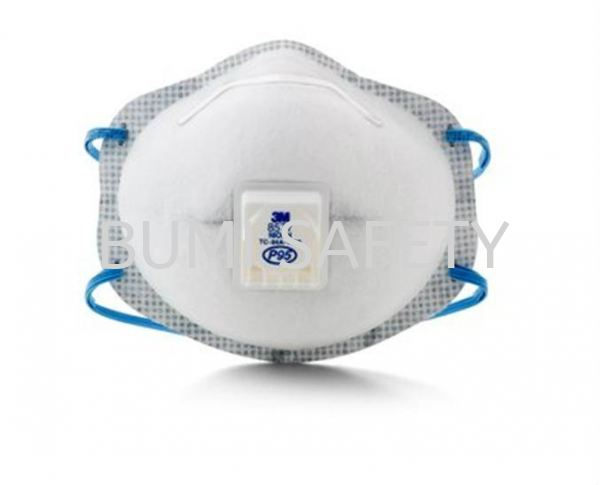 3M 8577 P95 OV Relief with Valve Respirator Protection Selangor, Kuala Lumpur (KL), Puchong, Malaysia Supplier, Suppliers, Supply, Supplies | Bumi Nilam Safety Sdn Bhd