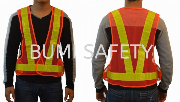OR V-Vest Net Safety Vest Safety Vest / Traffic Control Selangor, Kuala Lumpur (KL), Puchong, Malaysia Supplier, Suppliers, Supply, Supplies   Bumi Nilam Safety Sdn Bhd