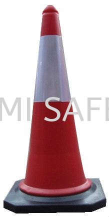 """Safety Cone Rubber Base 30"""" Traffic Control Safety Vest / Traffic Control Selangor, Kuala Lumpur (KL), Puchong, Malaysia Supplier, Suppliers, Supply, Supplies 