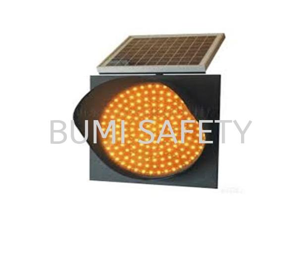 Solar Warning Light Traffic Control Safety Vest / Traffic Control Selangor, Kuala Lumpur (KL), Puchong, Malaysia Supplier, Suppliers, Supply, Supplies   Bumi Nilam Safety Sdn Bhd
