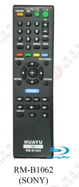 RM-B1062 (SONY)(BLUERAY) DVD REMOTE CONTROL Johor Bahru, JB, Johor. Supplier, Suppliers, Supplies, Supply   SCE Marketing Sdn Bhd
