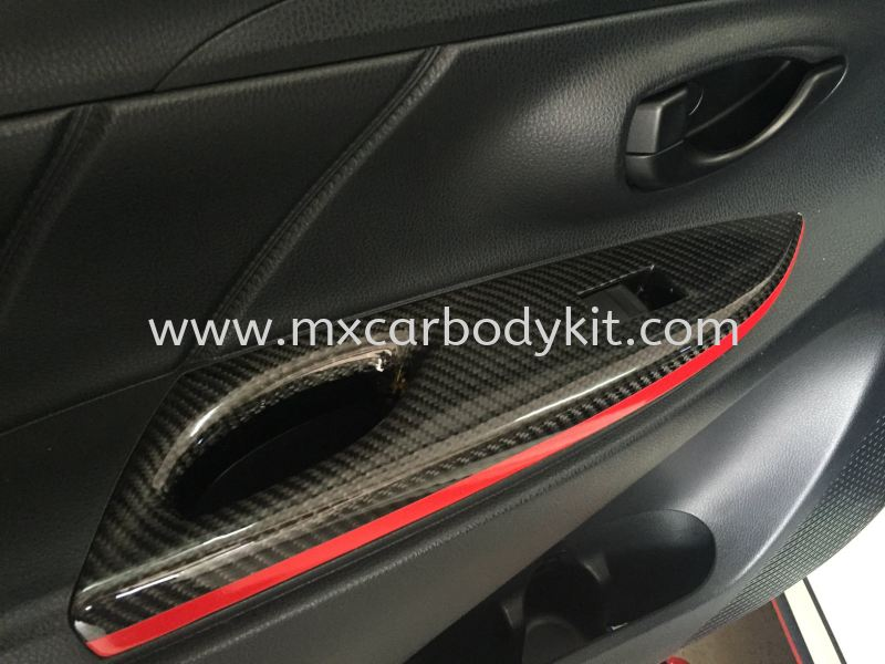 TOYOTA VIOS 2013 CARBON FIBER DOOR HANDLE COVER  TOYOTA VIOS CARBON FIBER BODY KITS Johor, Malaysia, Johor Bahru (JB), Masai. Supplier, Suppliers, Supply, Supplies | MX Car Body Kit