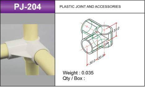 PJ-204 Plastic Joints Malaysia, Kuala Lumpur (KL), Selangor. Supplier, Supply, Supplies | Woo Kyung P & J Logistic (M) Sdn Bhd