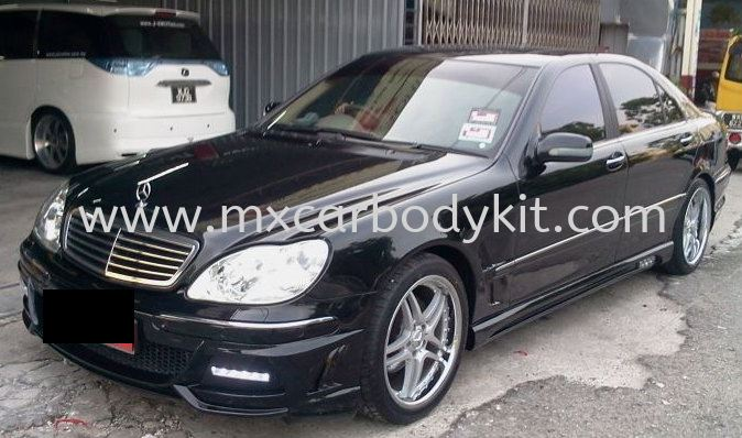MERCEDES BENZ W220 BLACKBISONSTYLE DESIGN FULL SET BODYKIT + SPOILER W220 (S CLASS) MERCEDES BENZ Johor, Malaysia, Johor Bahru (JB), Masai. Supplier, Suppliers, Supply, Supplies | MX Car Body Kit