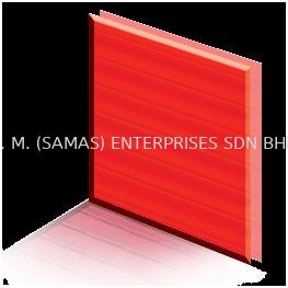Polycarbonate Sheet - Red