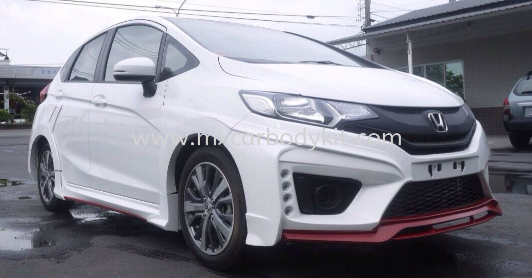 HONDA JAZZ 2014 REDLINE WIDE BODY KIT + SPOILER JAZZ 2014 HONDA Johor, Malaysia, Johor Bahru (JB), Masai. Supplier, Suppliers, Supply, Supplies | MX Car Body Kit