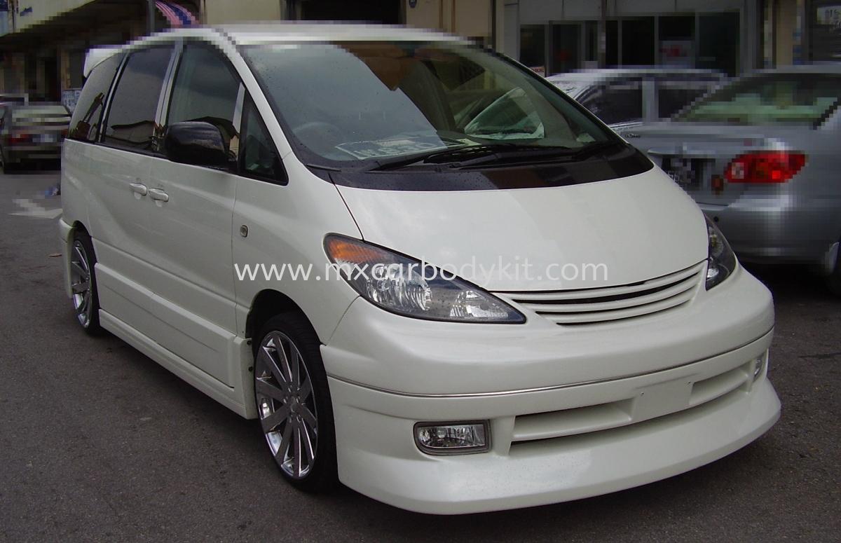 TOYOTA ESTIMA ACR30 2000-05 FABULOUS FULL SET BODYKIT + SPOILER ESTIMA ACR30 TOYOTA Johor, Malaysia, Johor Bahru (JB), Masai. Supplier, Suppliers, Supply, Supplies   MX Car Body Kit