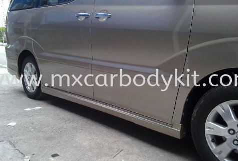 TOYOTA ALPHARD 2002-07 MODELISTA DESIGN SIDE SKIRT ALPHARD 10 2002 - 2007  TOYOTA Johor, Malaysia, Johor Bahru (JB), Masai. Supplier, Suppliers, Supply, Supplies | MX Car Body Kit