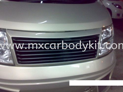 NISSAN ELGRAND 2005 E51 W-BLOOD STYLE FRONT GRILLE ELGRAND 2005 NISSAN  Johor, Malaysia, Johor Bahru (JB), Masai. Supplier, Suppliers, Supply, Supplies   MX Car Body Kit