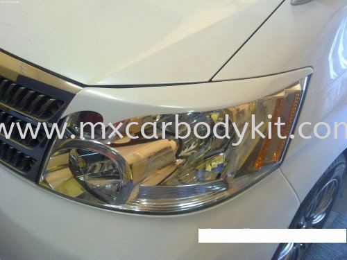 TOYOTA ALPHARD 2002-05 SPORT DESIGN HEAD LAMP EYE LIP ALPHARD 10 2002 - 2007  TOYOTA Johor, Malaysia, Johor Bahru (JB), Masai. Supplier, Suppliers, Supply, Supplies | MX Car Body Kit