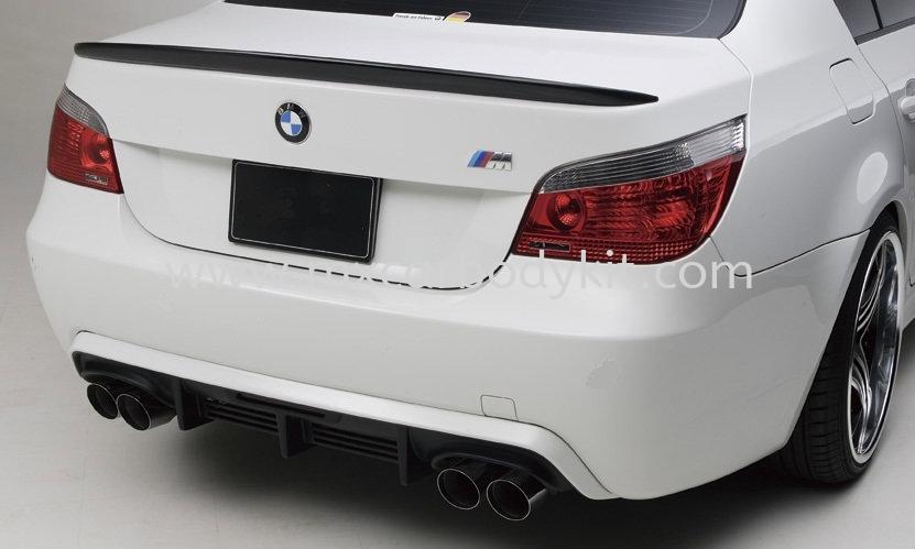 BMW E60 M-SPORT WALDSTYLE REAR BUMPER DIFFUSER E60 (5 SERIES) BMW Johor, Malaysia, Johor Bahru (JB), Masai. Supplier, Suppliers, Supply, Supplies | MX Car Body Kit