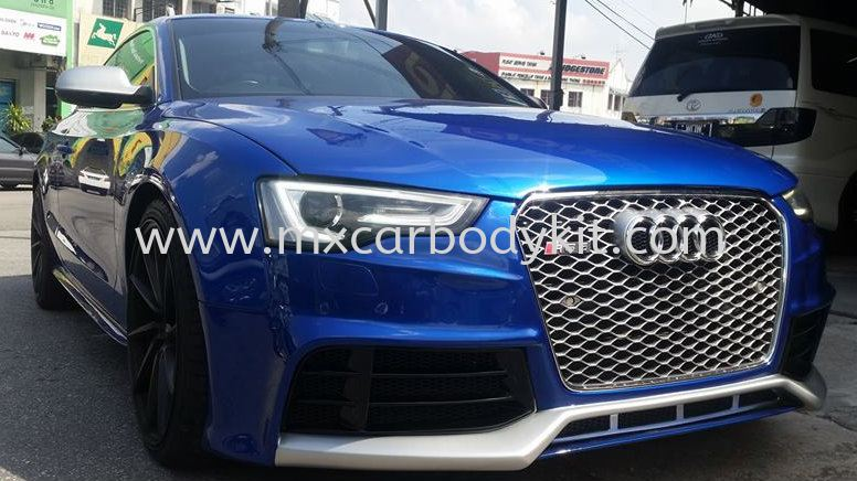 AUDI A5/S5 B8 2013 RIEGER STYLE FRONT BUMPER A5 AUDI Johor, Malaysia, Johor Bahru (JB), Masai. Supplier, Suppliers, Supply, Supplies | MX Car Body Kit