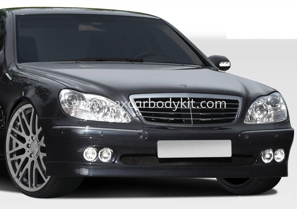 MERCEDES BENZ W220 BRABUSDESIGN FRONT BUMPER W220 (S CLASS) MERCEDES BENZ Johor, Malaysia, Johor Bahru (JB), Masai. Supplier, Suppliers, Supply, Supplies | MX Car Body Kit