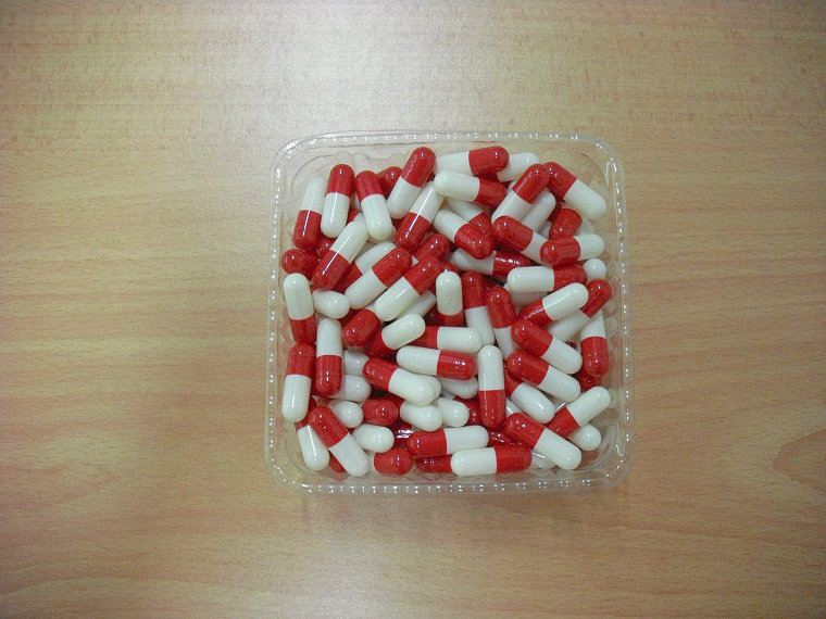 Capsule red+white Capsule mix colour Capsule Penang (Pulau Pinang), Butterworth, Malaysia. Manufacturer, Supplier, Supply, Supplies   ENC Packaging Enterprise