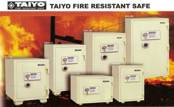 TAIYO_FIRE_RESISTANT_SAFE_2 SECURITY BOX/ SAFETY BOX Malaysia, Selangor, Kuala Lumpur (KL), Puchong Supplier, Suppliers, Supply, Supplies   NSY Office System