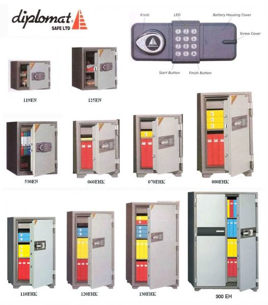 DIPLOMAT_SAFE SECURITY BOX/ SAFETY BOX Malaysia, Selangor, Kuala Lumpur (KL), Puchong Supplier, Suppliers, Supply, Supplies | NSY Office System