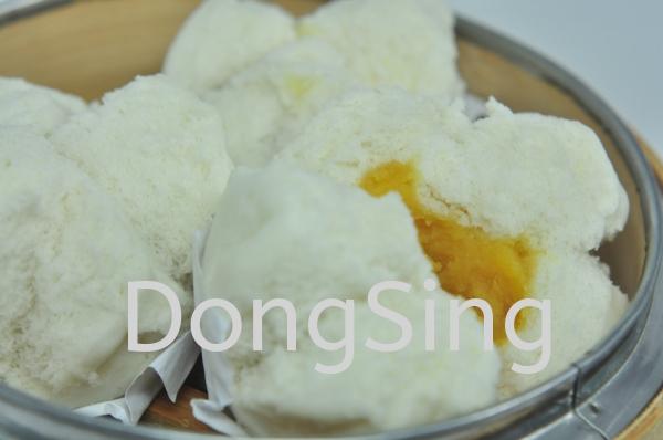 (※131) EGG CUSTARD BUN 奶皇饱 (开口)  BUN 饱点 DIM SUM 点心类 Malaysia, Selangor, Kuala Lumpur (KL), Kajang Supplier, Suppliers, Supply, Supplies   Dong Sing Food Link Sdn Bhd