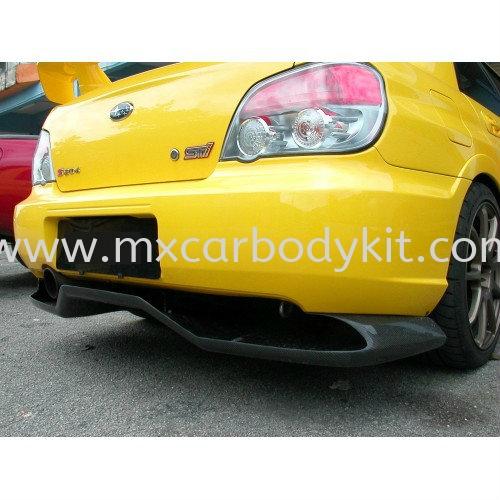 SUBARU V9 DIFFUSER CARBON FIBRE SUBARU V9 CARBON FIBER BODY KITS Johor, Malaysia, Johor Bahru (JB), Masai. Supplier, Suppliers, Supply, Supplies | MX Car Body Kit