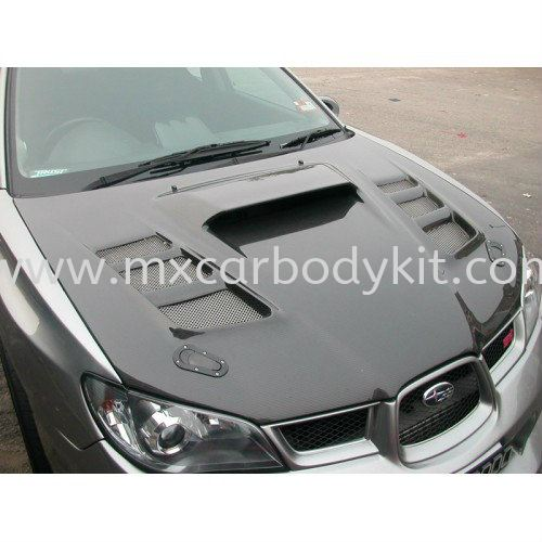 SUBARU V9 BONNET CARBON FIBRE SUBARU V9 CARBON FIBER BODY KITS Johor, Malaysia, Johor Bahru (JB), Masai. Supplier, Suppliers, Supply, Supplies | MX Car Body Kit