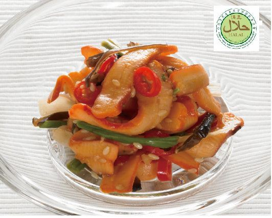 Seasoned Squid With Mountain Vegetable Seasoned Food Singapore Supplier, Distributor, Importer, Exporter | Arco Marketing Pte Ltd