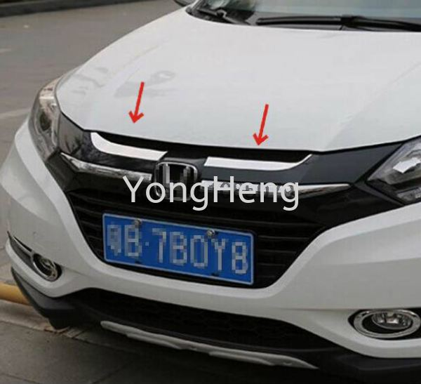 front hood grill chrome Honda - HRV 2014 Accessories Johor Bahru JB Malaysia Supplier, Wholesaler | Yong Heng Auto Parts & Styling